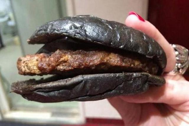 Burger kuro japonia