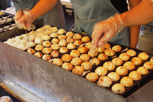 Ośmiornica w cieście takoyaki