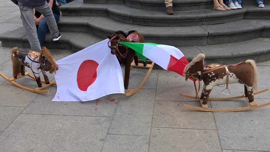 Protest manifestacja plac zamkowy warszawa TARA 10