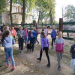 SP nr 8 w Lubinie odwiedziny Goldena 29.09.2016