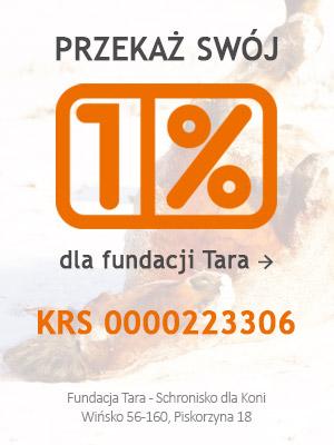 1% dla Fundacji TARA