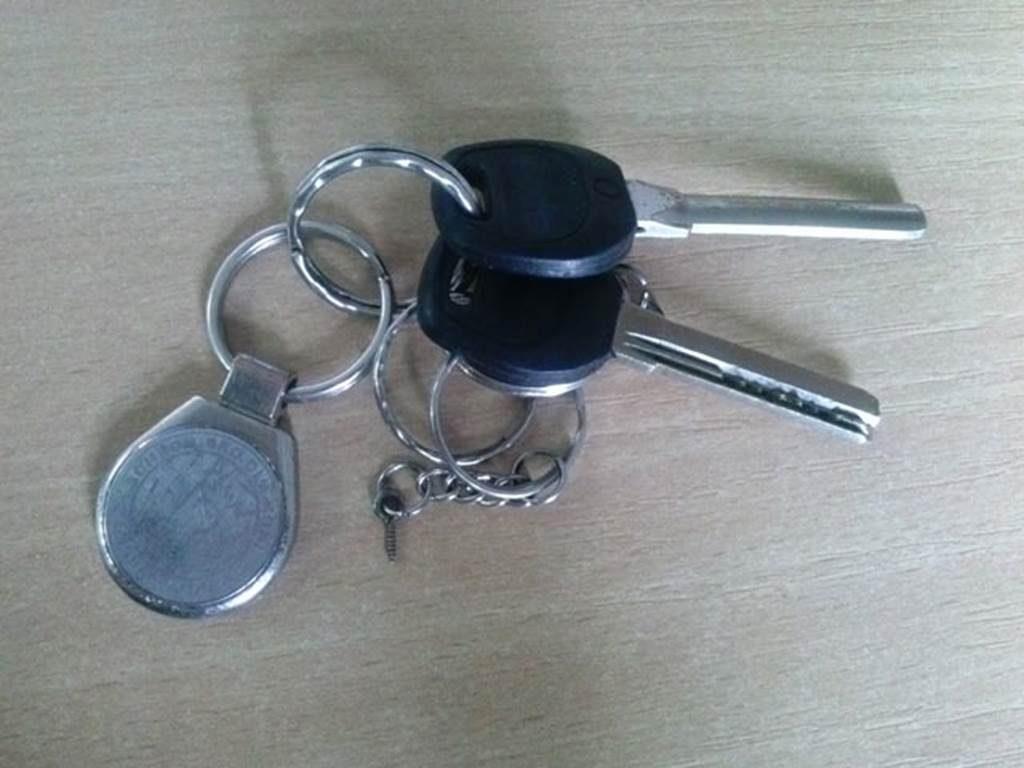 znalezione klucze