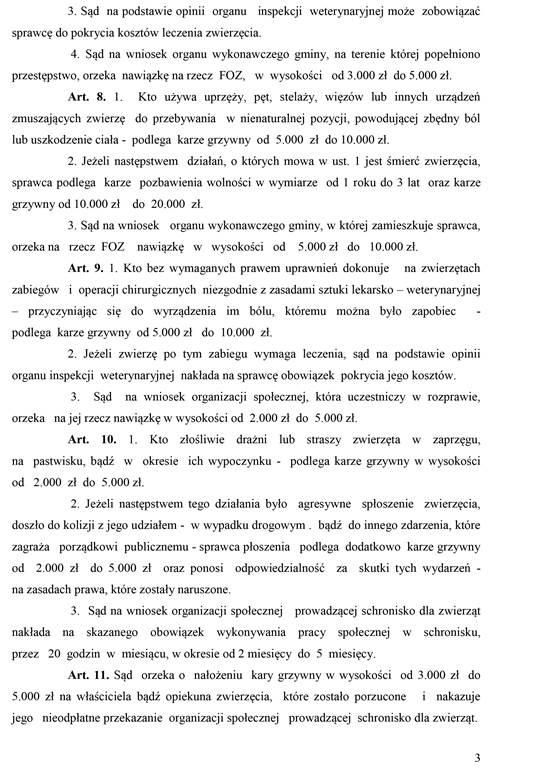 Propozycja zmian prawa
