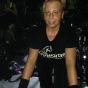 Marta na rowerach