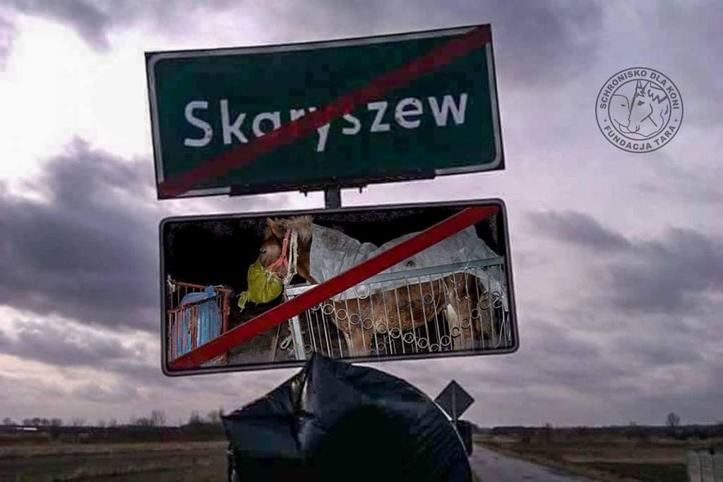Blokada w Skaryszewie