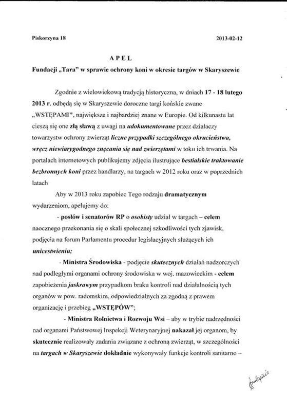 Apel Skaryszew