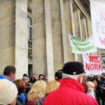 Protest fermy