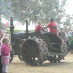 Tara na traktorach