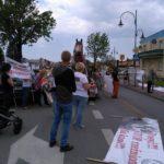 Manifestacja w Skaryszewie