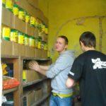 Wolontariusze z Łowęcic